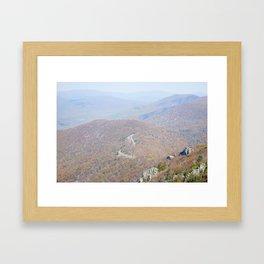 Travel makes one modest Framed Art Print