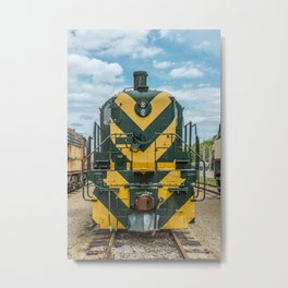 CNW 1689 ALCO RSD-5 Diesel Electric Locomotive Train Engine  Metal Print