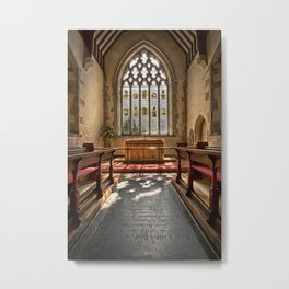 Ripe Chancel Metal Print
