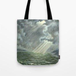 Sunbeams and Rolling Seas Tote Bag