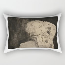 The Scream Rectangular Pillow
