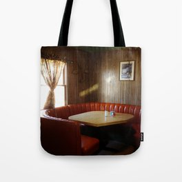 Diner Booth Tote Bag