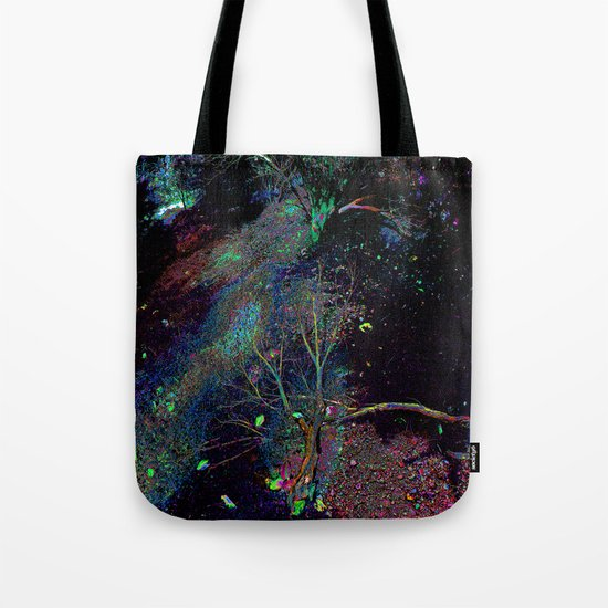 Psychedelic Forest.... Tote Bag