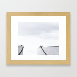 La contamination 3 Framed Art Print