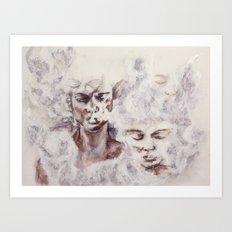 hazy subconscious Art Print