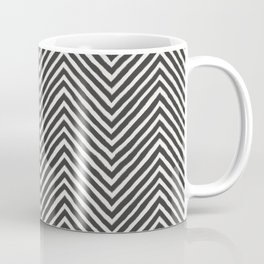 chevron painted Coffee Mug
