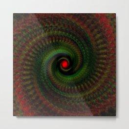 Spiral Madness Metal Print