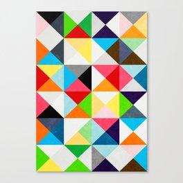 Geometric Morning Canvas Print