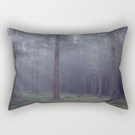 Spooky forest - North Kessock, The Highlands, Scotland Rectangular Pillow
