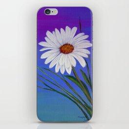 White daisy -2 iPhone Skin