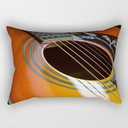 Acoustic Beauty Rectangular Pillow