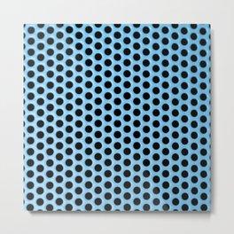 bluedots Metal Print