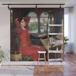 "John William Waterhouse - ""I am half sick of shadows"" said the Lady of Shalott Wall Mural"