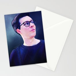 Phil Lester Sweater   Digital Painting Stationery Cards