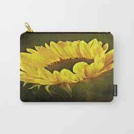 Petals Of A Sunflower Carry-All Pouch