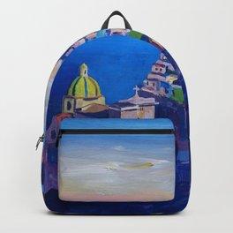Amazing Amalfi Coast at Sunset in Italy Backpack