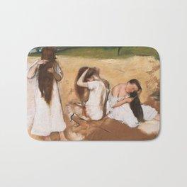 Edgar Degas - Women Combing Their Hair Bath Mat