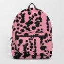 Pink and Black Dalmatian by ninamay