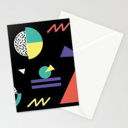 Memphis Pattern 38 / 80s - 90s Retro Stationery Cards