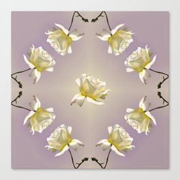 Ring Around a Rose Canvas Print