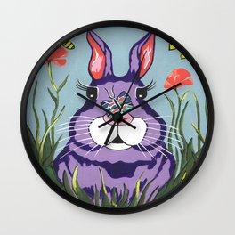 Funny Bunny Wall Clock