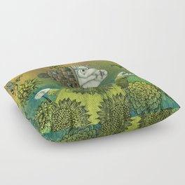 The Beekeeper Floor Pillow