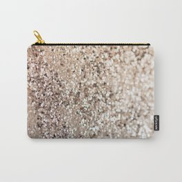 Sparkling GOLD Lady Glitter #1 #decor #art #society6 Carry-All Pouch