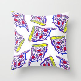 Pizza Party Throw Pillow