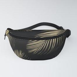 Palm Leaves - Gold Cali Vibes #4 #tropical #decor #art #society6 Fanny Pack