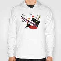 kandinsky Hoodies featuring STARSHIP by THE USUAL DESIGNERS