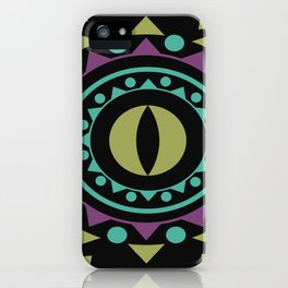OM on Black iPhone Case