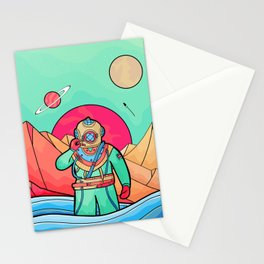 The first explorer  Stationery Cards