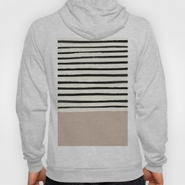 Latte & Stripes Hoody