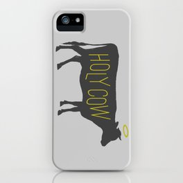 Holy Cow! iPhone Case