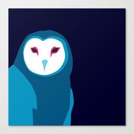 Fancy Owl Canvas Print