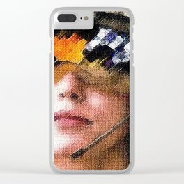 The Millennial Falcon Clear iPhone Case