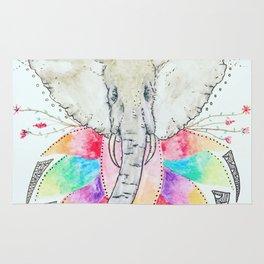 Save the elephants Rug
