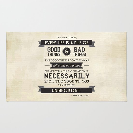 Good Things & Bad Things Rug