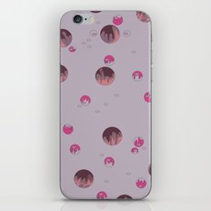 big bubbles - purples iPhone & iPod Skin