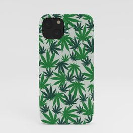 420 Cannabis mary jane Weed Pattern Gift iPhone Case