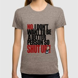 Get off my back - 1 T-shirt