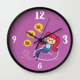 Never Forget your friends Wall Clock