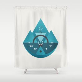 Sleeping Time Shower Curtain