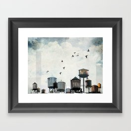 Watertanks 2 Framed Art Print