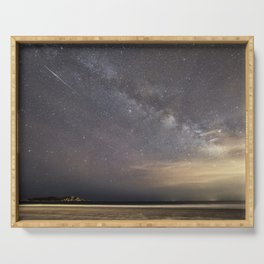 Shooting stars and the Milkyway Serving Tray