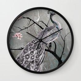 Spade's Peacock Wall Clock