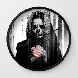 Death Waits Wall Clock
