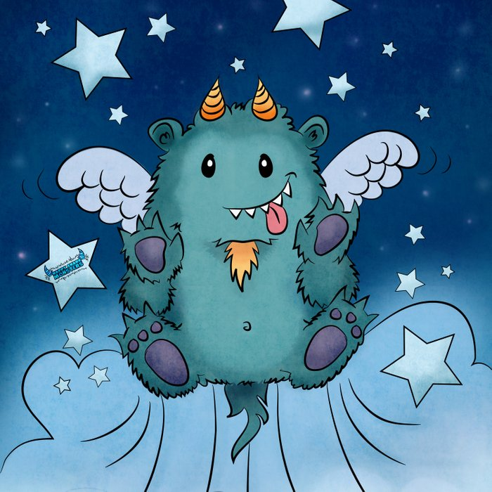 Twinkle Toes the Happy Chaos Monster Comforters
