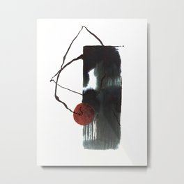 Spider Wall Plays Basketball XD Metal Print