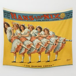Vintage poster - Hans and Nix Wall Tapestry